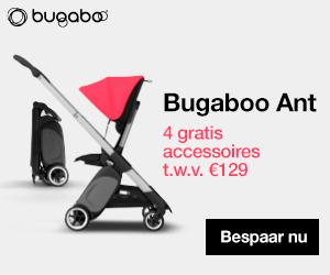 Koop deze Bugaboo-kinderwagen en ontvang GRATIS een beensteun, regenhoes, draagband en organizer