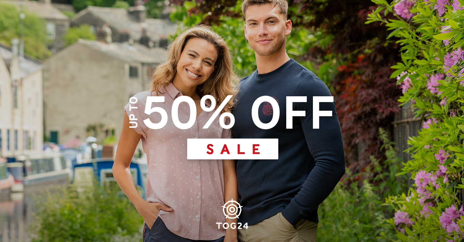 Up to 50% off on all outdoor clothing