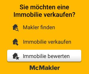 Immobilie verkaufen, Makler finden, hier bei MCMakler Ihre Immobilie bewerten lassen