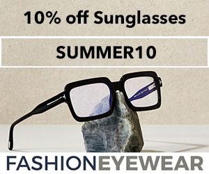 Fashion Eyewear 300x250 - SUMMER10