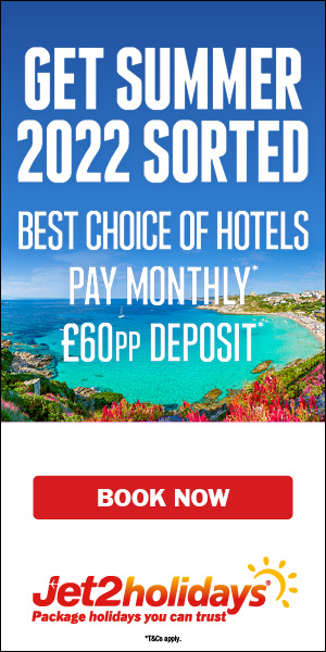 Jet2holidays: Top deals on summer 2020 holidays
