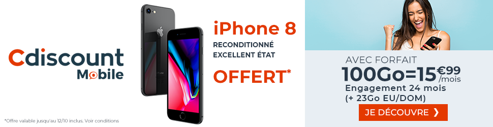 forfait cdiscount mobile 20 go