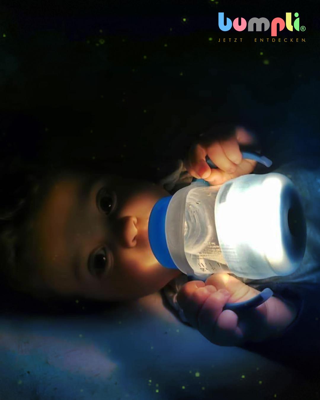 cshow - Bumpli Trinkflasche mit Nachtlicht: Warum unser 1-Jähriger begeistert ist