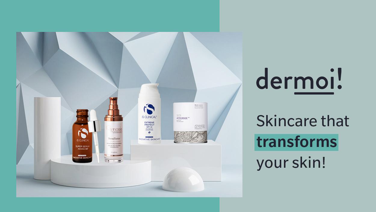 Cosmeceutical skincare ny Dermoi