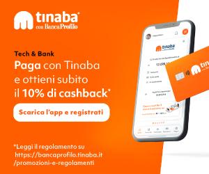 Tinaba: cos'è, come funziona, carta, bonus, assistenza 1