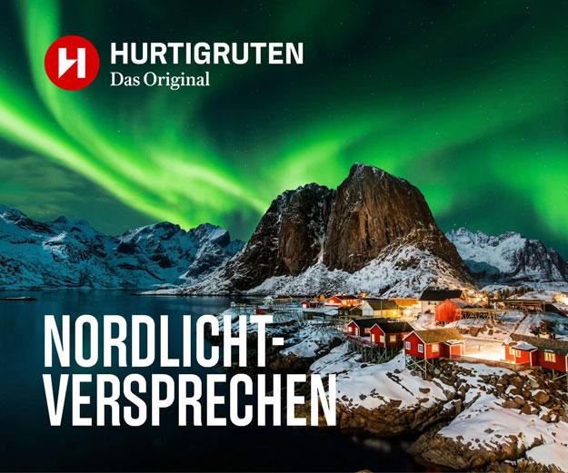 Polarlicht Garantie - das Hurtigruten Nordlicht Versprechen