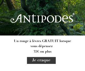 code promo antipodes