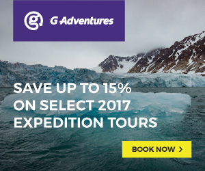 G Adventures up to 15% off Arctic & Antarctic Expeditions
