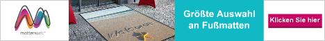 Mattenwelt Fußmatten mit Individuellem Design