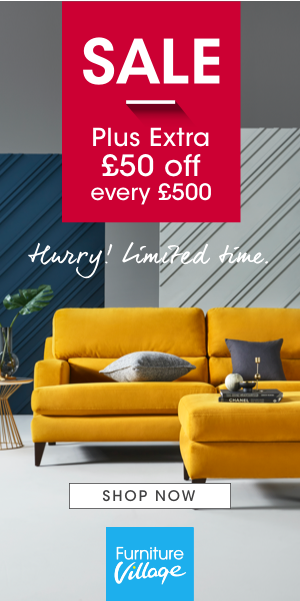 Sale now on at Furniture Village. Plus extra £50 off every £500.