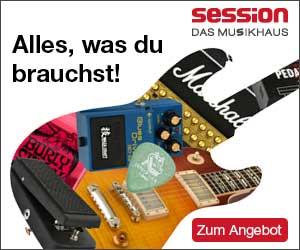 Musikinstrumente günstig kaufen bei Session.de im Online Shop!