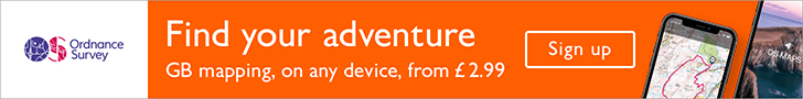 Visit Ordnance Survey for more maps, apps and products to help with your outdoor adventures