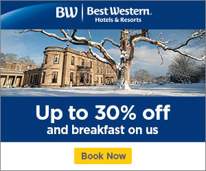 Winter sale at Best Western hotels in the UK