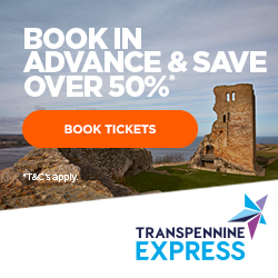 Travel to the game via train and save with advanced booking