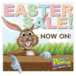 Pontins Easter Sale. Book by 9 Apr