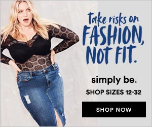 click here to go shopping for for plus size fashion at Simply Be