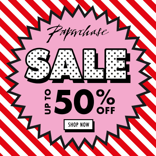 Paperchase 50% sale