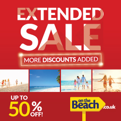 On the Beach Extended Sale. Up to 50% off hotels in Canaries, Turkey & mainland Spain. Book by 9 Jul