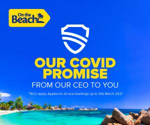 On the Beach: Covid-19 promise