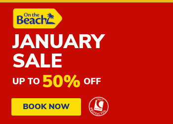 On the Beach sale: up to 50% off holidays in 2019/2020