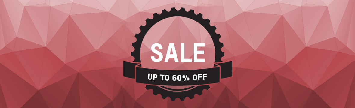 SALE with up to 60% off