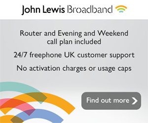 John Lewis Broadband deals