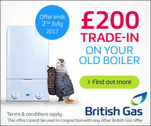 British Gas Boiler Offer