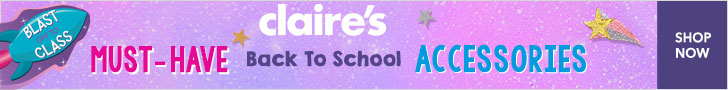 Claires Banner