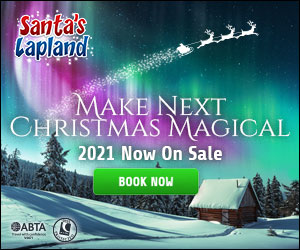 Santa's Lapland Breaks from £879 per adult. Book by 28 Feb