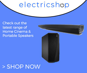 Click here to check out the latest range of home cinema and portable speakers at Electricshop