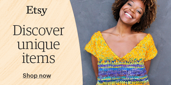Etsy Discover Unique Items (For Crochet)