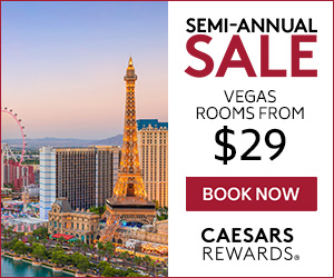 Caesars Rewards Vegas Hotel Sale Vegas Rooms $29
