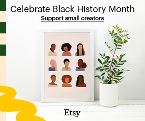 Etsy Black History Month