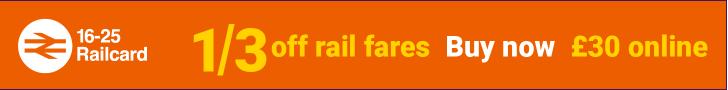 16-25 Railcard UK