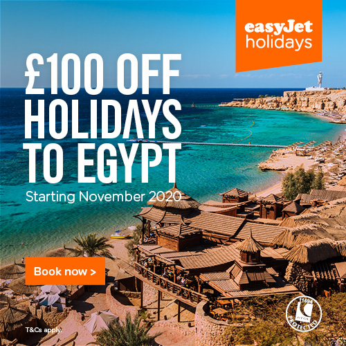 discounted holidays to Egypt