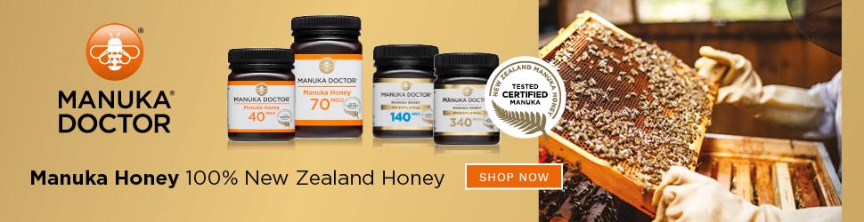 100% New Zeland Honey