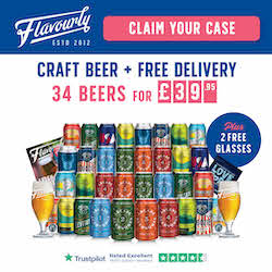 Flavourly 20 Craft Beers with 2 free glasses