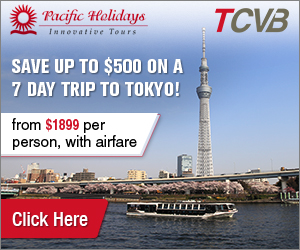 Pacific Holidays Tokyo, Kyoto & Osaka. Book by 24 Apr