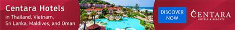 Centara Hotels & Resorts in Maldives, Thailand, Vietnam, Sri Lanka & Oman