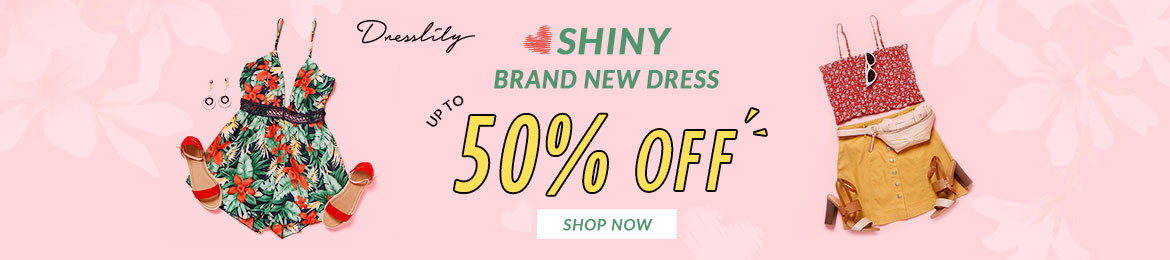 Shiny Brand New Dress--Up to 50% OF