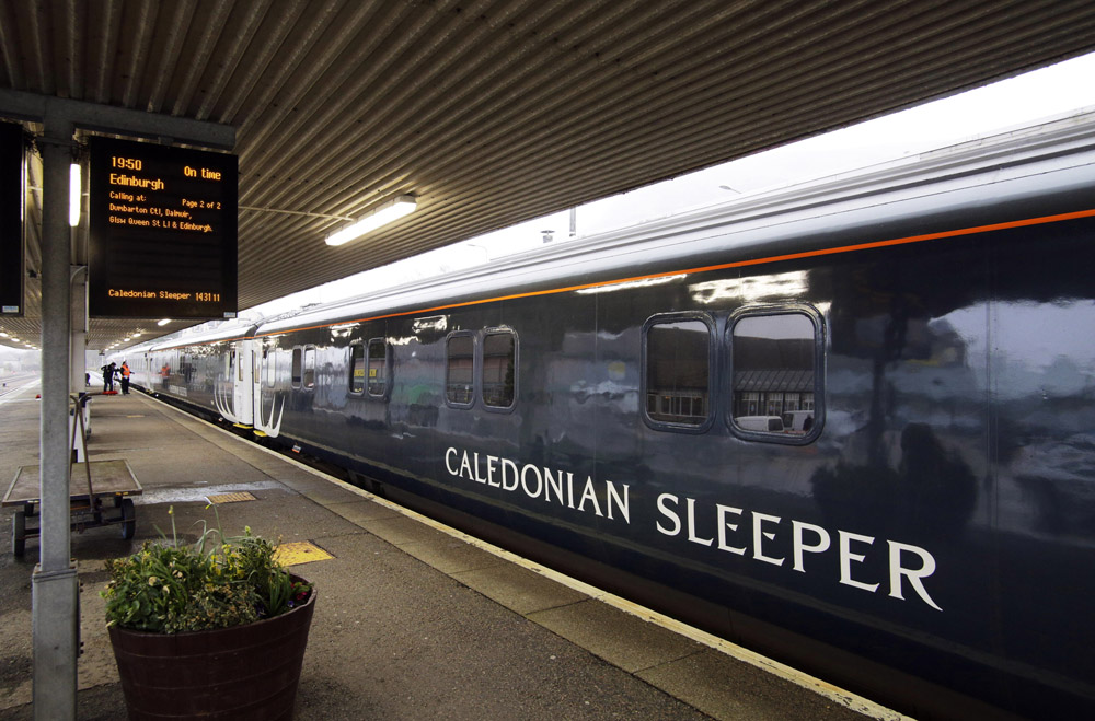 Caledonian Sleeper at Fort William