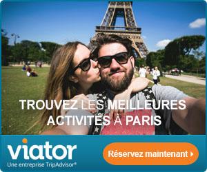 visites guidées ViatorCom attractions France