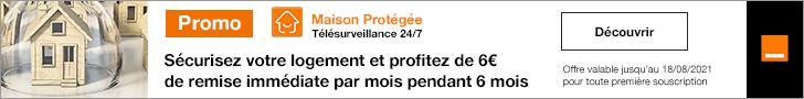 Nouvelle campagne publicitaire pour la Maison Protégée d'Orange