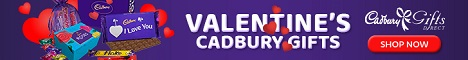 cadbury gifts direct long banner