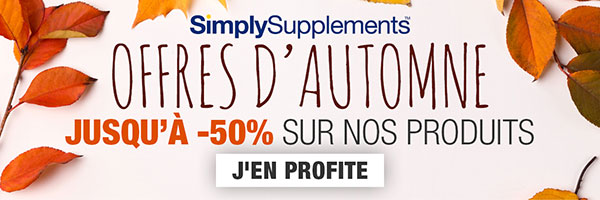 code promo simply supplements