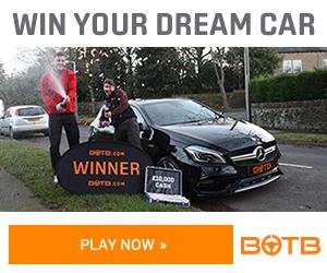 Win Your Dream Car   Win a Supercar   Win a Luxury Car