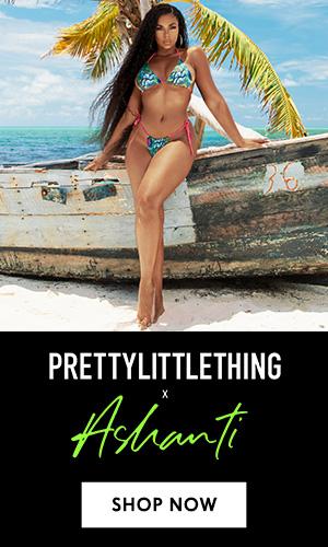 Prettylittlething x Ashanti
