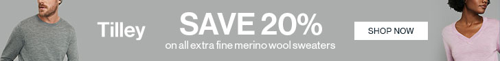Save on Sweaters! Save 20% On All Extra Fine Merino Wool Sweaters!