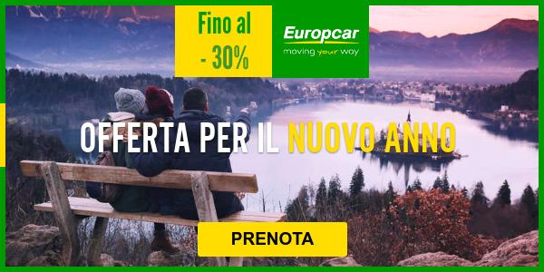 Autonoleggio europacar 25% di sconto offerta esclusiva online