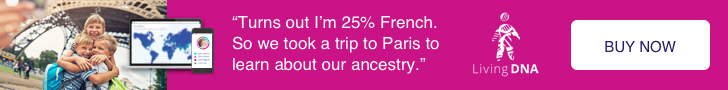 LivingDNA Ancestry Test Buy Now Banner